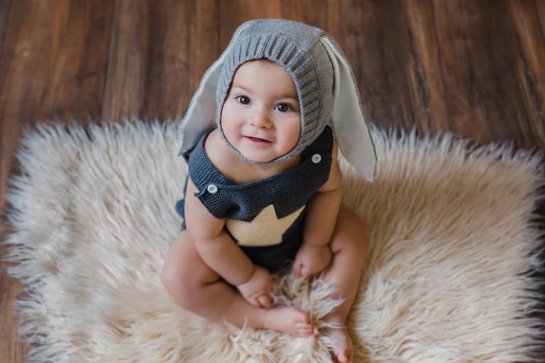 Sesión bebé en Vigo 10 meses | Aday