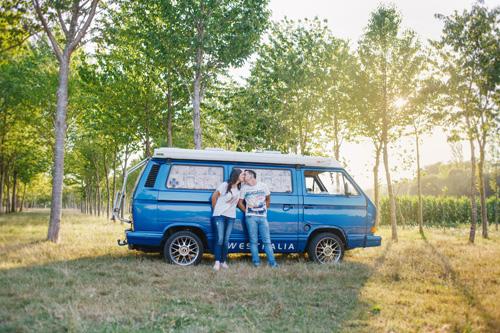 Sandra + Alex | Preboda en el campo