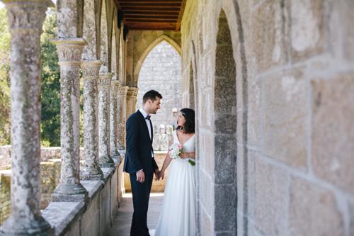 Aida + Sergio | Boda en el Castillo de Soutomaior
