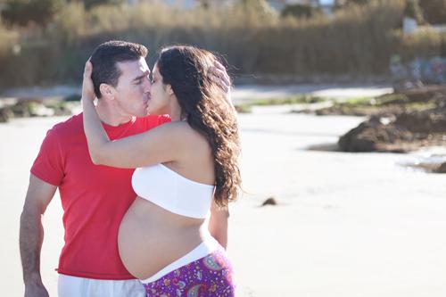 Reportaje Maternidad en Vigo: Julyana