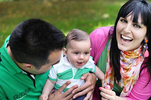 Mateo : reportaje de bebé en Vigo