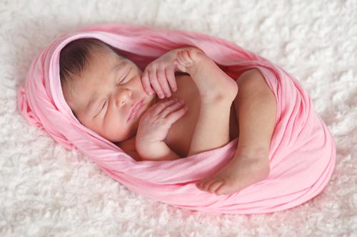 Marina, 8 días   Reportaje Newborn Recién Nacido en Vigo