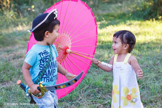 Huma & Lian: reportaje de niños en Vigo