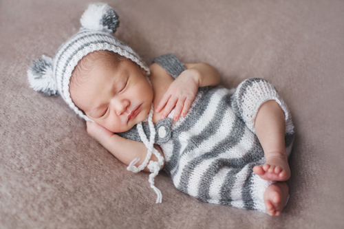 Eidan un recién nacido de 8 días, en Vigo