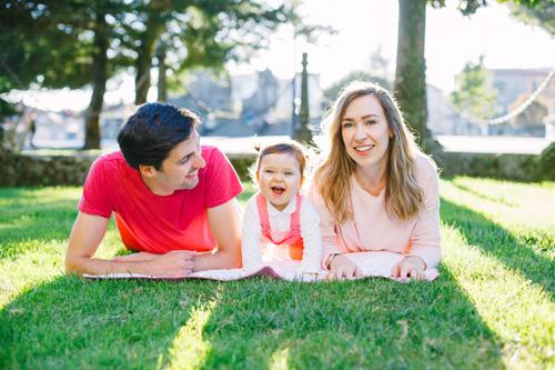 Alicia cumple 1 añito | Sesión de familia en Pontevedra