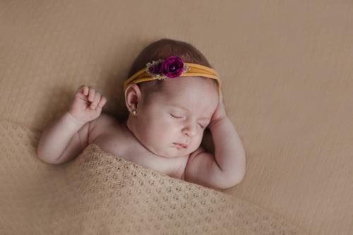 Ariadna, fotografía newborn en Vigo, 8 días