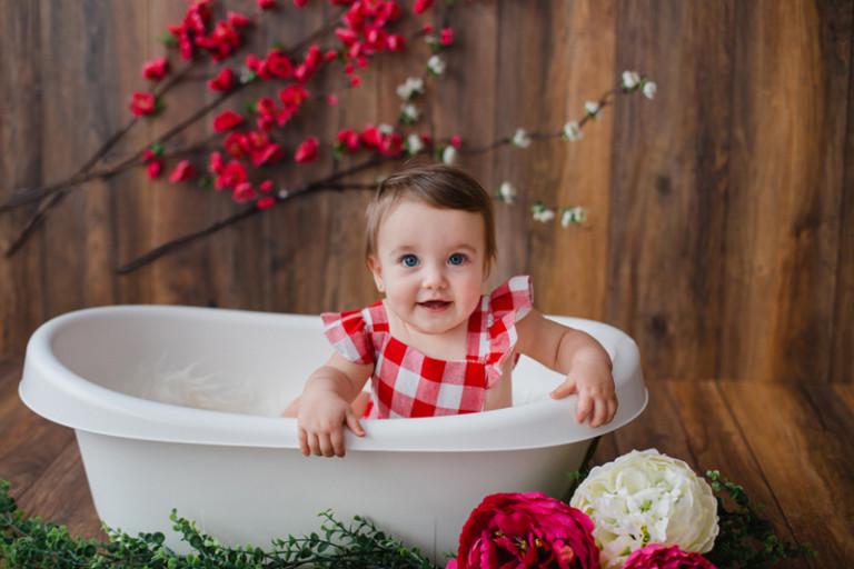 Sesión bebé 10 meses en Vigo | Julieta