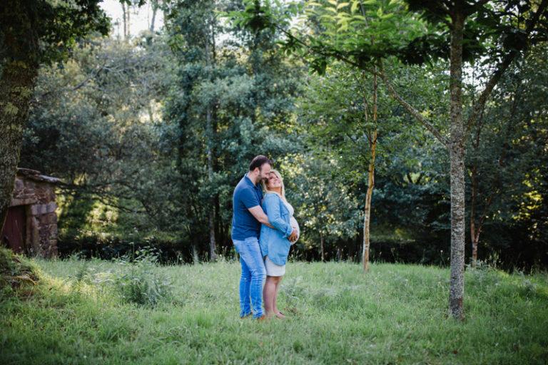 Sesión maternidad en Vigo | Ángela