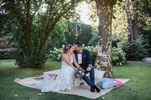 Lorena + Iván | Una boda boho en el Pazo El Castriño